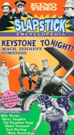 9786304925799: Slapstick Encyclopedia, Vol. 2 - Keystone Tonight!: The Mack Sennett Comedies [VHS]