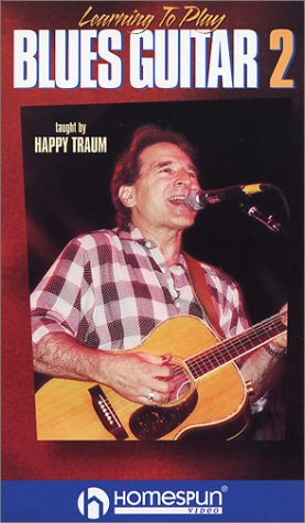9786304937341: Learning to Play Blues Guitar Two Happy [VHS]