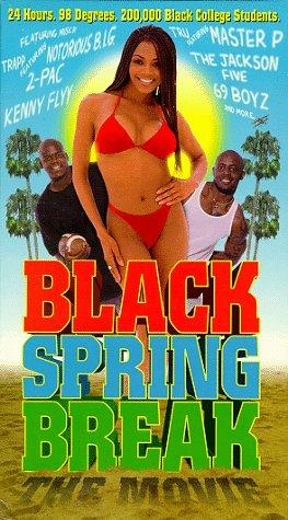 9786304945520: Black Spring Break [VHS]