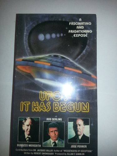 9786304952924: Ufo's:It Has Begun [VHS]