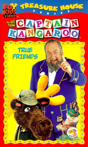 9786305033189: The All New Captain Kangaroo: True Friends [VHS]