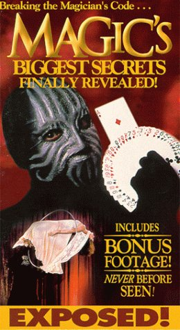 9786305050179: Magic's Biggest Secrets Revealed [Reino Unido] [VHS]