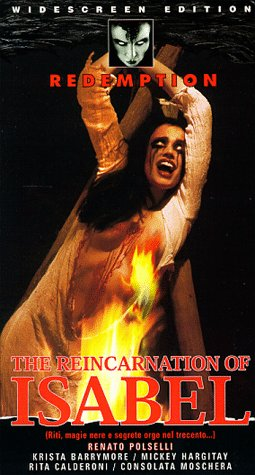 9786305071402: Reincarnation of Isabel [VHS]