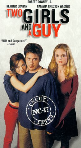 9786305077503: Two Girls and a Guy [VHS]