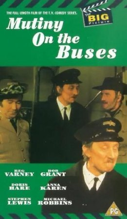 9786305112358: Mutiny on the Buses [VHS]