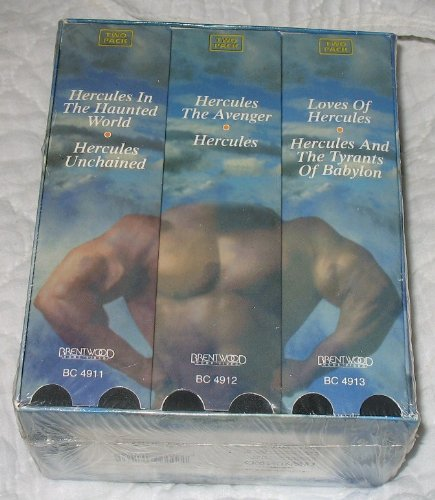 9786305121596: Hercules Collection [VHS]