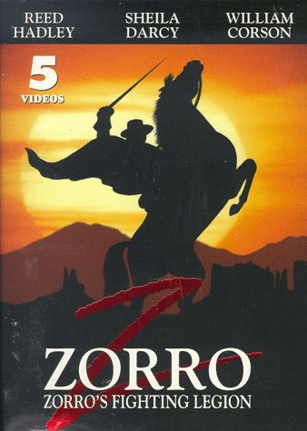 9786305150336: Zorro's Fighting Legion [VHS]