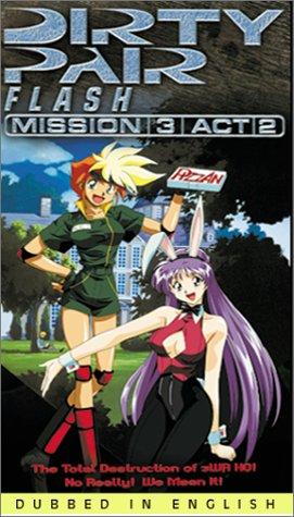 9786305161189: Dirty Pair Flash Mission 3 Act 2 (Dub) [VHS]