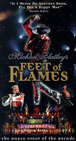 9786305166030: Lord of the Dance:Feet of Flames [VHS]