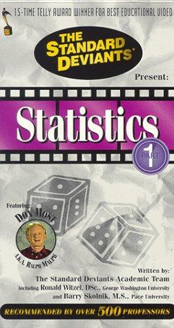 9786305214342: The Standard Deviants: Statistics, Part 1 [VHS]