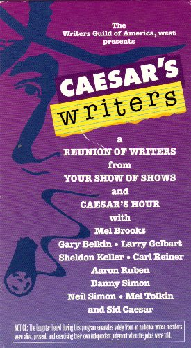 9786305235293: Sid Caesar's Writers - A Reunion of Writers From Your Show Of Shows and Caesar's Hour [VHS]