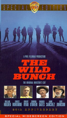 9786305237112: The Wild Bunch (30th Anniversary Widescreen Edition) [VHS]