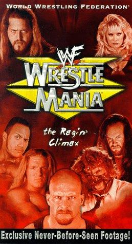 9786305255239: WWF: WrestleMania XV - The Ragin' Climax [VHS]