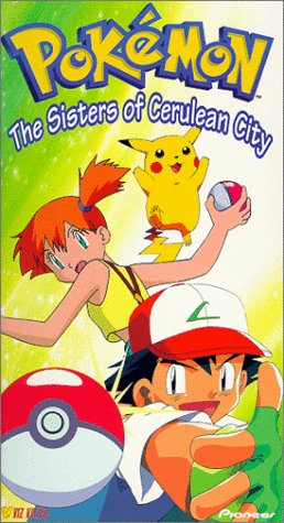 9786305261544: Pokemon - The Sisters of Cerulean City (Vol. 3) [VHS]
