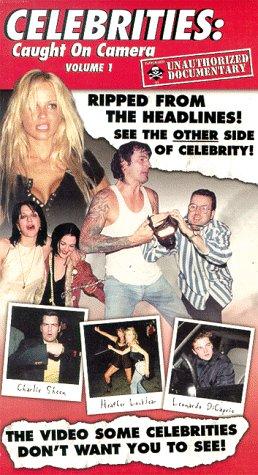 9786305273714: Celebrities: Caught on Camera [VHS]