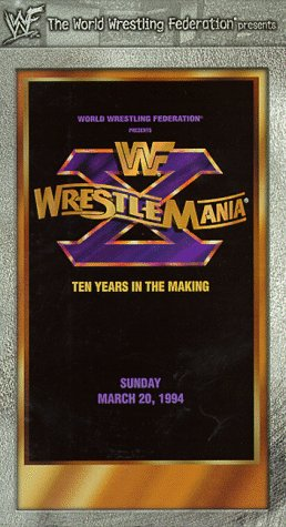 9786305276999: WWF: WrestleMania X [VHS]