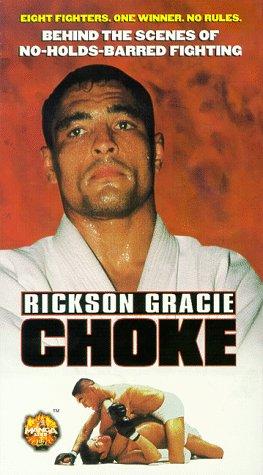9786305297239: Rickson Gracie: Choke [VHS]