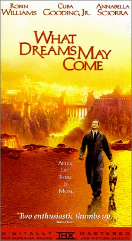 9786305297529: What Dreams May Come [VHS]