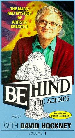 9786305347972: Behind the Scenes 1: David Hockney [VHS]
