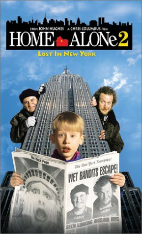 9786305366164: Home Alone 2 - Lost in New York [VHS]