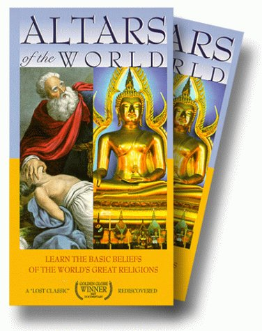 9786305391005: Altars of the World - The Eastern and Western Religions [VHS]
