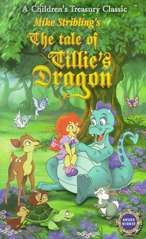 9786305430728: The Tale of Tillie's Dragon [VHS]