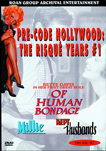 9786305436331: Pre-Code Hollywood - The Risque Years (Of Human Bondage / Millie / Kept Husbands)