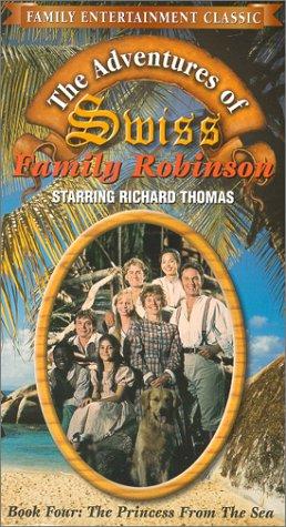 9786305457992: Adventures of Swiss Family Robinson 4: Princess [VHS]