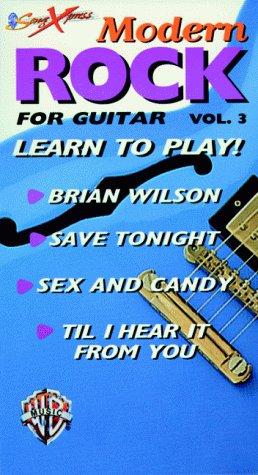 Songxpress: Modern Rock 3 [VHS]: Warner Bros. Publications