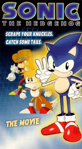 9786305500902: Sonic the Hedgehog: The Movie [USA] [VHS]