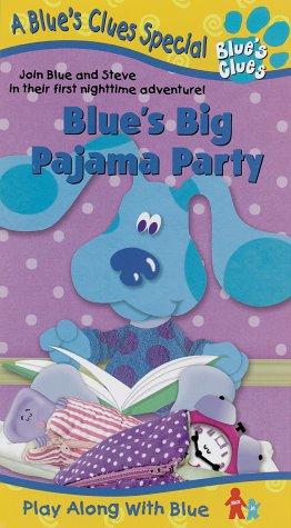 9786305559290: Blue's Clues - Blue's Big Pajama Party [VHS]