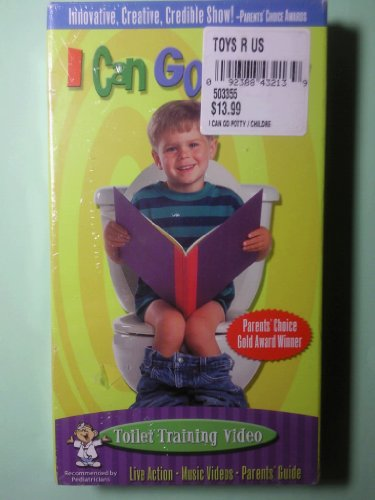 9786305599012: I Can Go Potty [VHS]