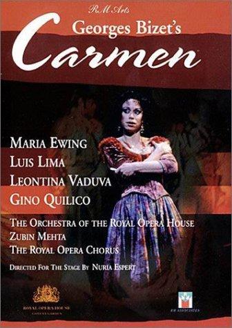 Georges Bizet - Carmen / Nuria Espert Zubin Mehta - M. Ewing L. Lima L. Vaduva - ROH Covent ...