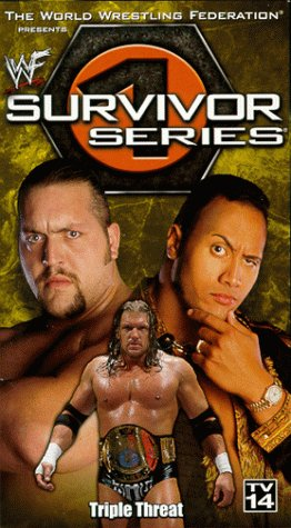 9786305687900: WWF: Survivor Series 1999 [VHS]