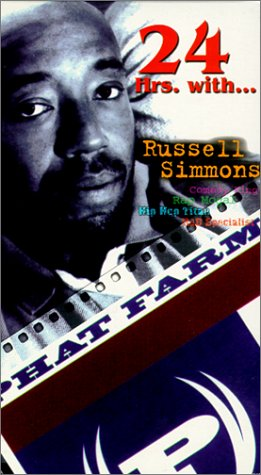 9786305797425: 24 Hours With Russell Simmons [VHS]