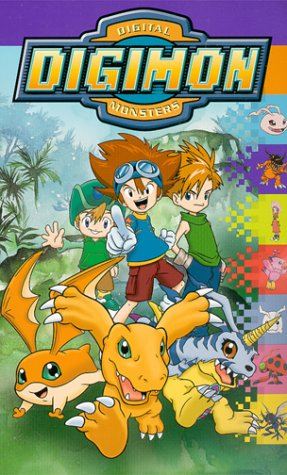 9786305805380: Digimon: Digital Monsters [USA] [VHS]