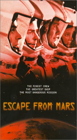 9786305844372: Escape from Mars [VHS]