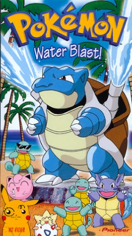 9786305844662: Pokemon - Water Blast (Vol. 18) [VHS]