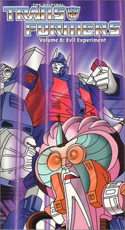 9786305876717: Transformers Vol. 8 - Evil Experiment [VHS]