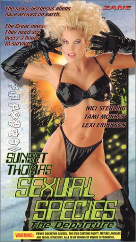 9786305892342: Sexual Species: The Departure [VHS]