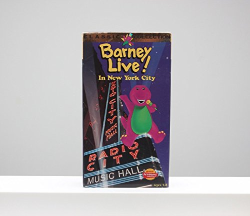 9786305930365: Live in New York [VHS]