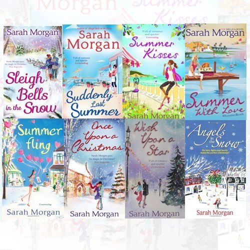 9786544575495: Sarah Morgan 8 Books Bundle Collection (Summer Kisses, Summer With Love, Summer Fling, Once Upon a Christmas, Wish Upon a Star, Angels in the Snow, Sleigh Bells in the Snow, Suddenly Last Summer)