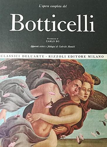 L'Opera Completa Del Botticelli [Hardcover] [Jan 01,: BOTTICELLI - Bo