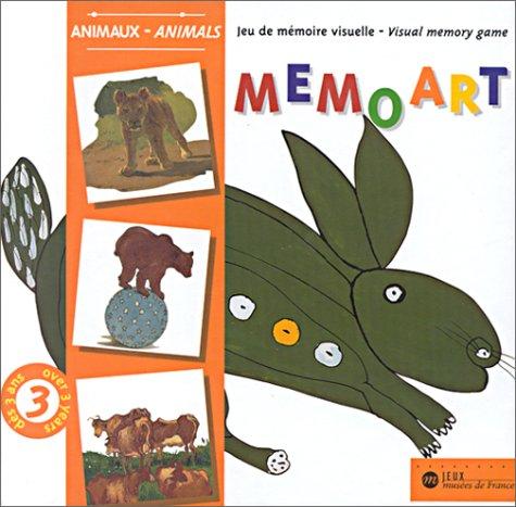 9786728106866: Memoart, Jeux de mémoire visuelle : Animaux