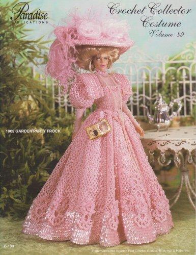 1905 Garden Party Frock (Crochet Collector Costume,: Sandra Peach