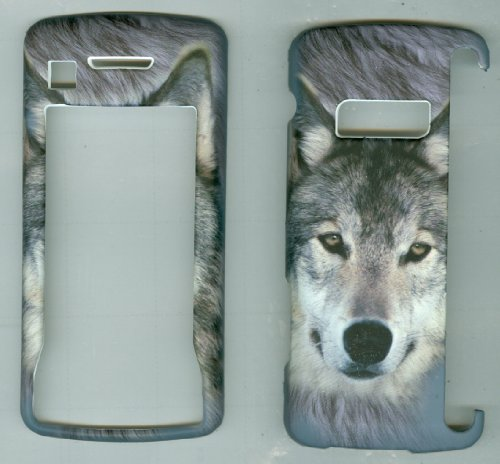 9786786500996: Grey Wolf Faceplate Hard Case Protector for Lg Env Touch-vx1100
