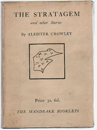 The Stratagem and Other Stories (7018983010) by Crowley, Aleister (Edward Alexander Crowley).
