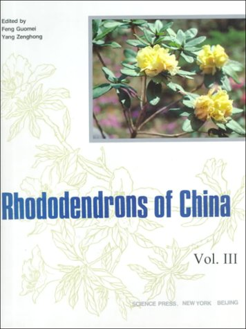 Rhododendron of China (Vol.3)(Chinese Edition): Feng Guomei