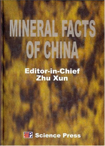 9787030102034: Mineral Facts of China