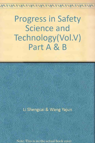 9787030163646: Progress in Safety Science and Technology(Vol.V) Part A & B